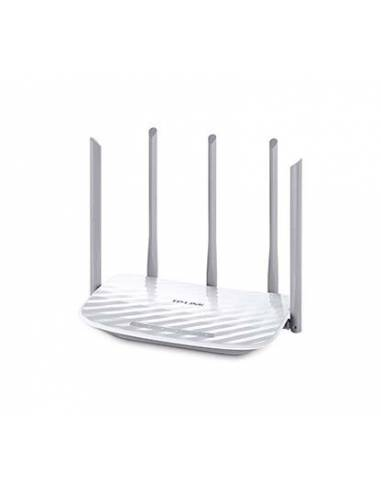 TP-Link Archer C60 Router inal&aacute mbrico dual AC1350, Qualcomm, 867Mbps en 5GHz, + 450Mbps en 2.4GHz, 802.11ac/a/b/g/n, 1 pu