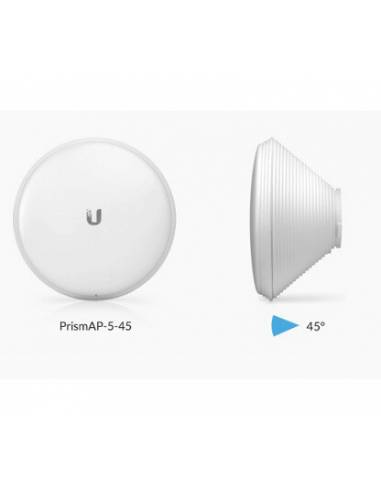 Ubiquiti Networks AIRMAX HORN-5-45 (antes PrismAP-5-45) 5 GHz Antenna, 45&deg
