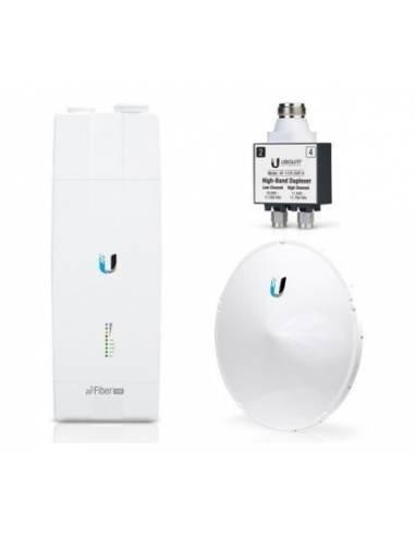 Ubiquiti Networks UBIQUITI AIRFIBER 11-COMPLETE-HB Unidad radioenlace Airfiber 11 GHz. Incluye AF-11, antena AF-11G35 y duplexor